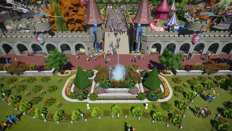 コースター プラネット 【Planet Coaster(プラネットコースター)】遊園地を自由に作って経営しよう!テーマパーク建築ゲーム【PC(Steam)】